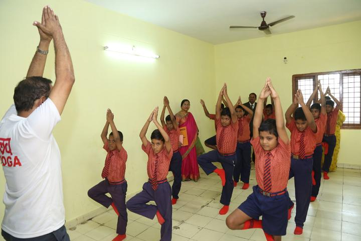 Sadashiva High School-Yoga