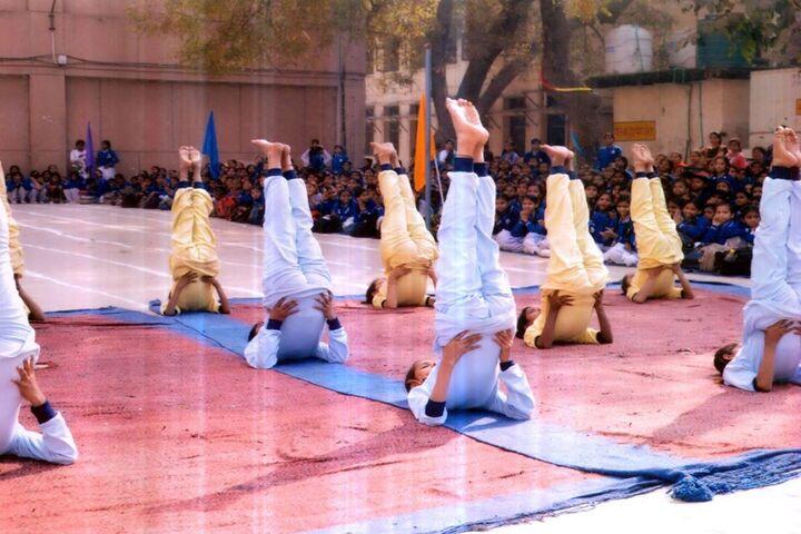 Government Girls Senior Secondary School No 1-Yoga Day