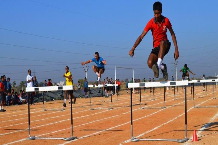 Sainik School Kalikiri-Long Jump