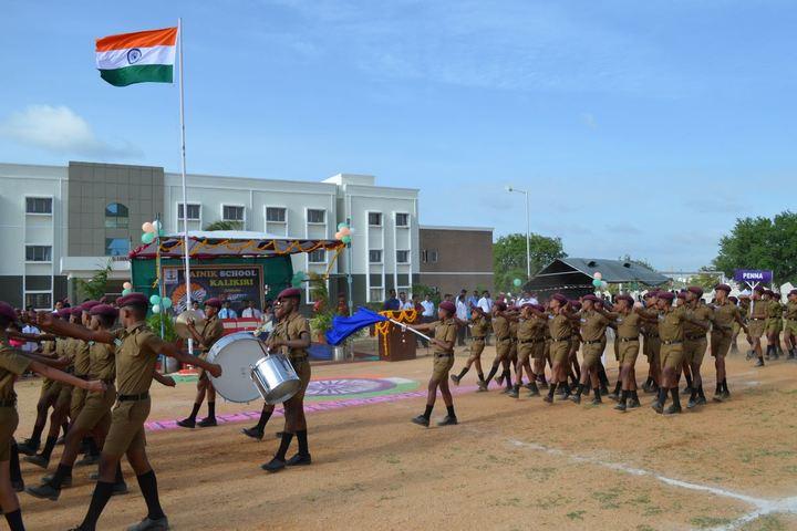 Sainik School Kalikiri-March Past