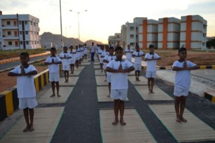 Sainik School Kalikiri-Yoga