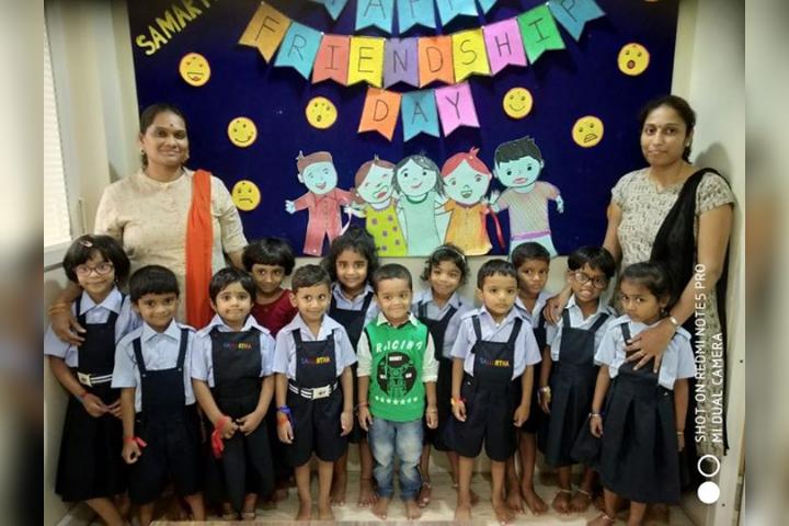 Friendship Day Celebration in Juinor Wing