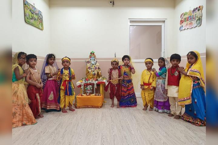 Samartha School-Janmastami Celebration