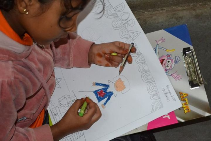 Samartha School-Drawing