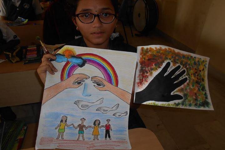 Sanskruti Global School-Drawing