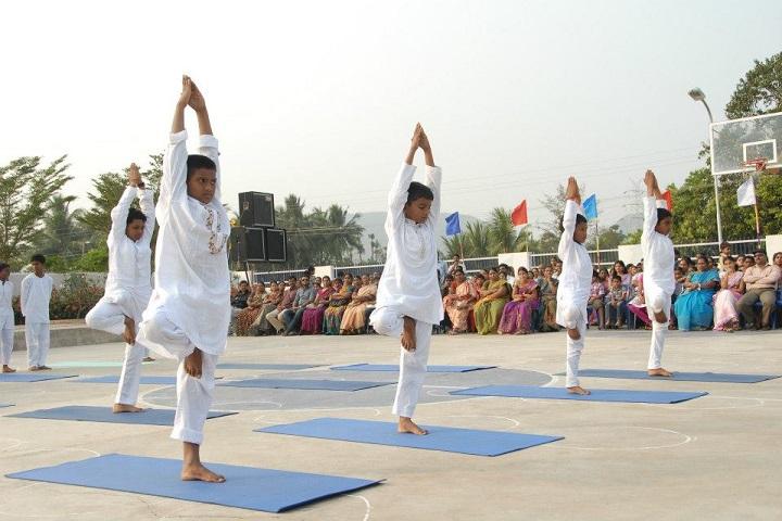 Sanskruti Global School-Yoga Day
