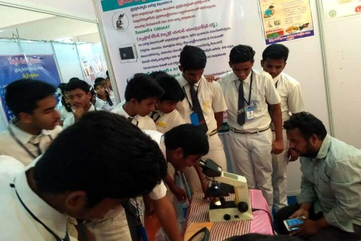 Saranya Concept School-Biology Lab