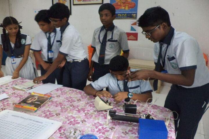 Saranya Concept School-Electrical Lab
