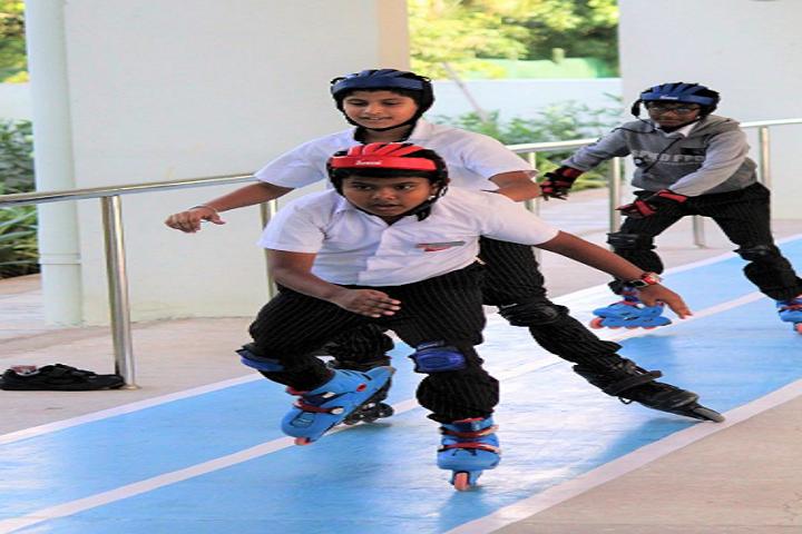 Silver Oaks Educational Society-Skating
