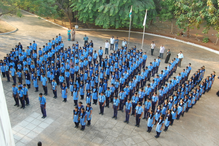 Smt Godavari Devi Saraf High School-Morning Assembly