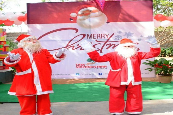 Sree Vidya Nikethan International School-Christmas Celebrations