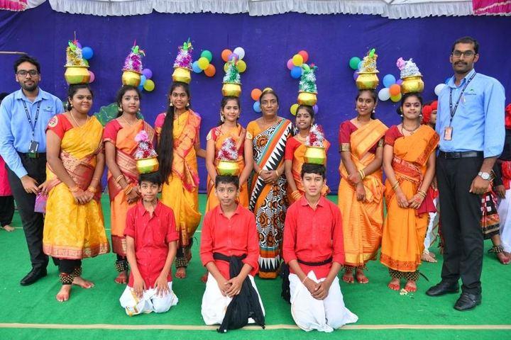 Sree Vidya Nikethan International School-Dance Competition
