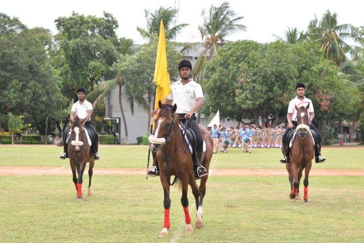 Sree Vidya Nikethan International School-Horse Riding