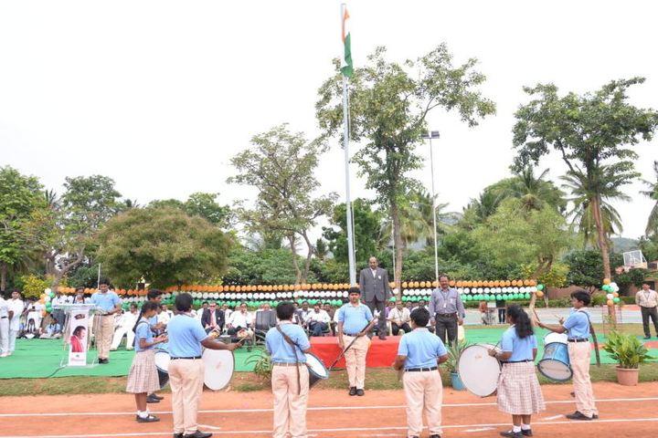 Sree Vidya Nikethan International School-Independence Day