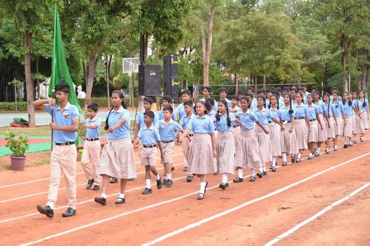 Sree Vidya Nikethan International School-March Past
