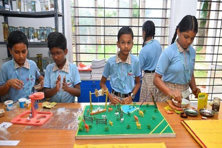 Sree Vidya Nikethan International School-Science Exhibition