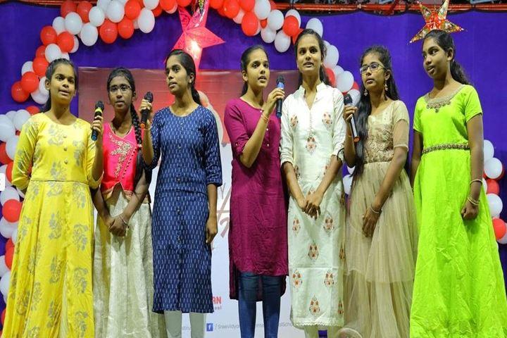 Sree Vidya Nikethan International School-Singing