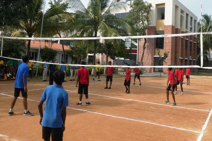 Sree Vidya Nikethan International School-Volley Ball
