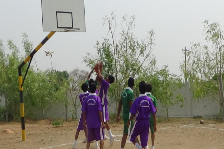 Sri Chaitanya High School-Basket Ball court
