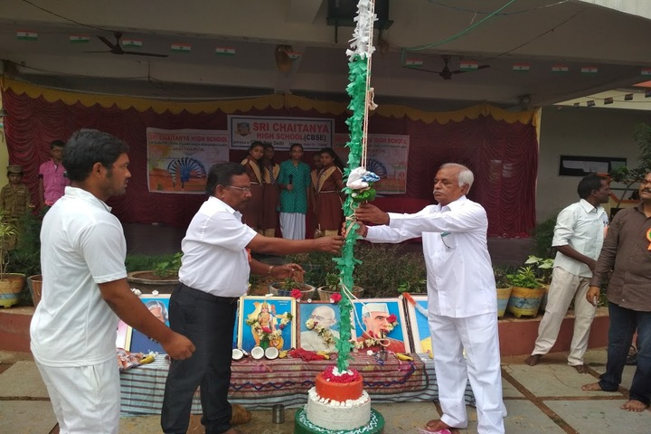 Sri Chaitanya High School-Independence Day Celebrations