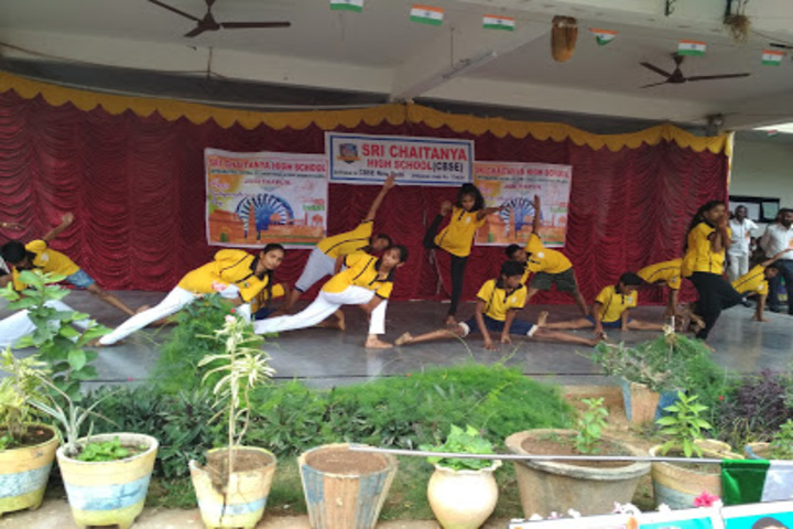 Sri Chaitanya High School-Yoga