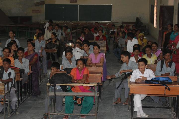 Government Boys Senior Secondary School-Classroom
