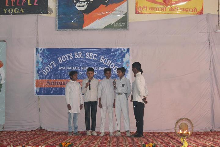 Government Boys Senior Secondary School-Singing