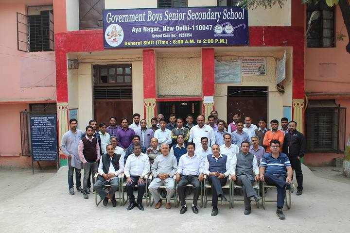 Government Boys Senior Secondary School-Teachers