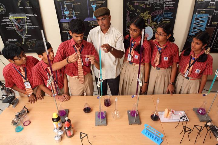 Sri Chaitanya Techno School- Chemistry Lab