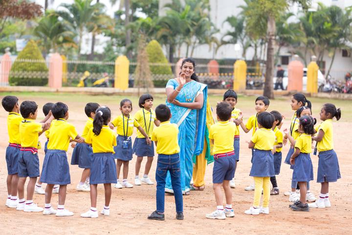 Sri Chaitanya Techno School- Kids Play Time