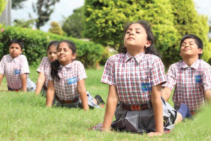 Sri Chaitanya Techno School- Yoga