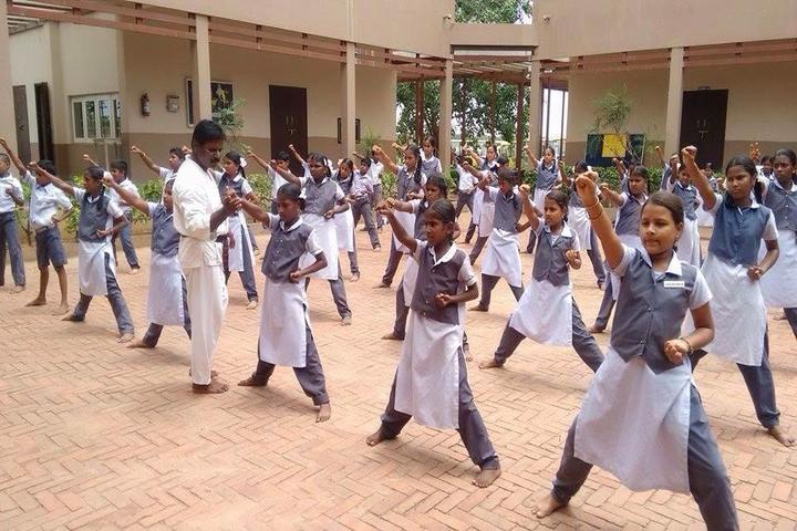 Sri City Chinmaya Vidyalaya- Karate