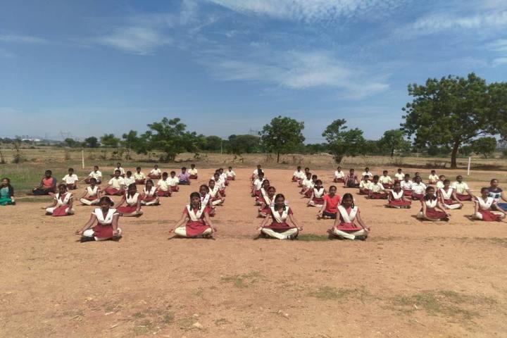 Sri Prakash Residential School- Meditation