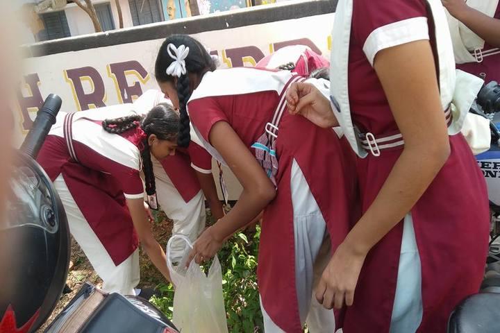 Sri Prakash Residential School- Swachh Bharath
