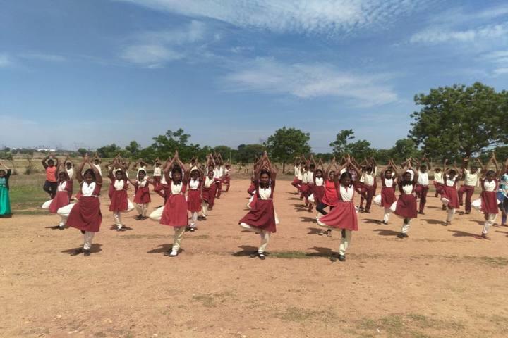 Sri Prakash Residential School- Yoga