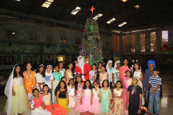 Sri Prakash Synergy School- Christmas Celebrations