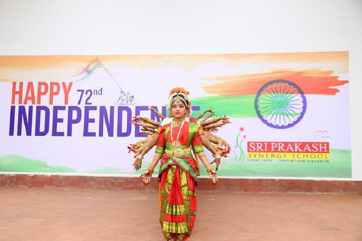 Sri Prakash Synergy School- Independence Day
