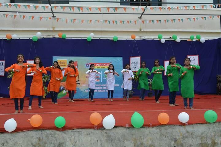 Sri Prakash Vidya Niketan- Independence  Day Celebrations