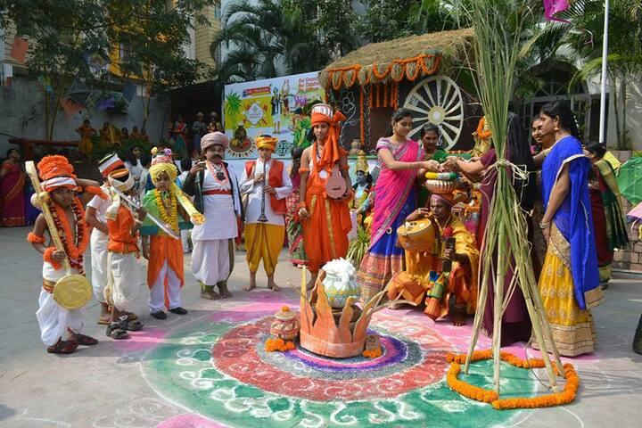 Sri Prakash Vidya Niketan- Sankranthi Celebrations