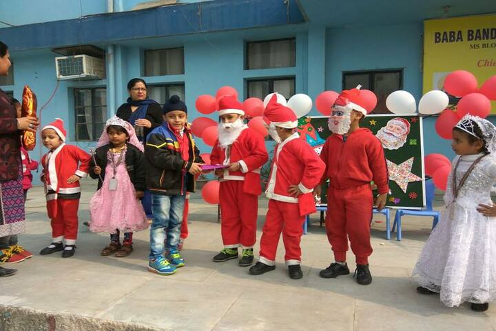 Guru Harkrishan Public School-Christmas Celebration