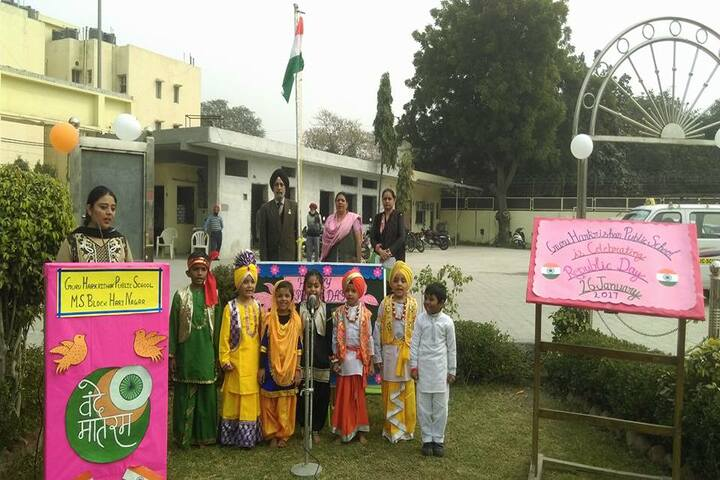 Guru Harkrishan Public School-Republic day