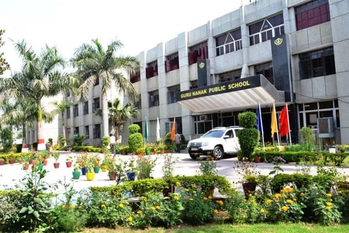 Guru Nanak Public School-Campus View