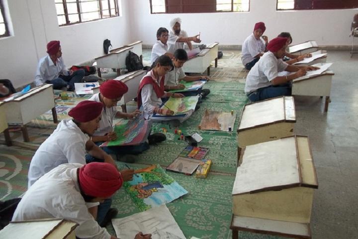 Guru Nanak Public School-Drawing room