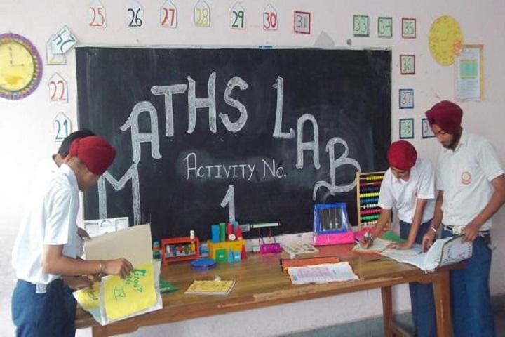 Guru Nanak Public School-Maths Lab