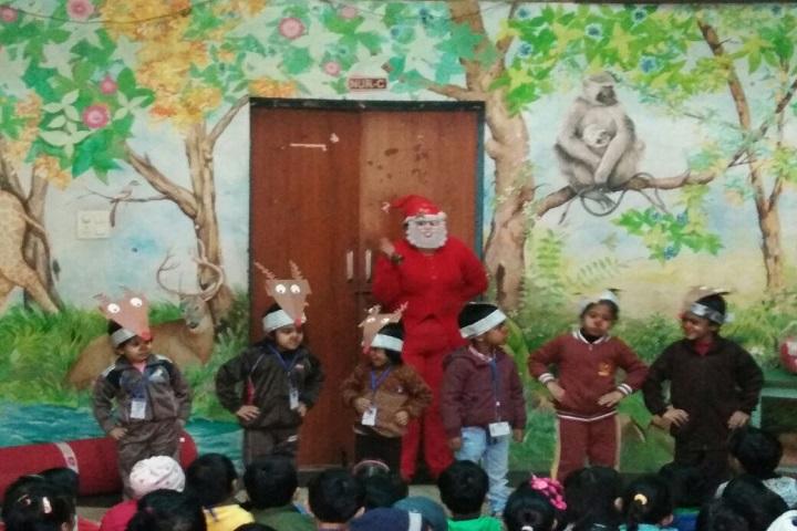 Gyan Bharati School-Christmas Celebration
