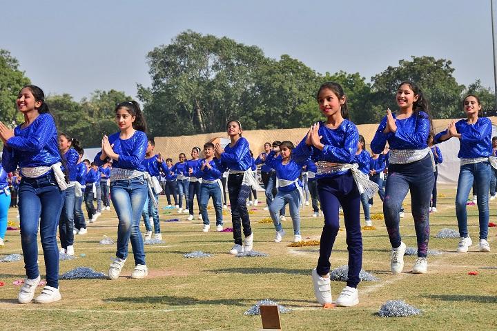 Gyan Bharati School-Dance