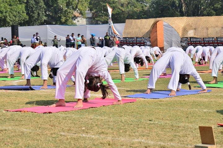 Gyan Bharati School-Yoga