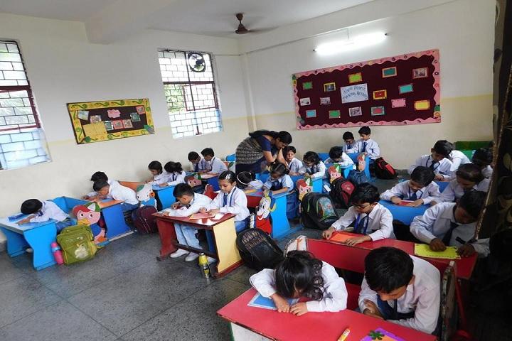 Gyanadeep Vidya Bhawan Senior Secondary School-Classroom