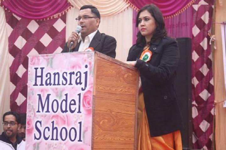 Hansraj Model School-Speech