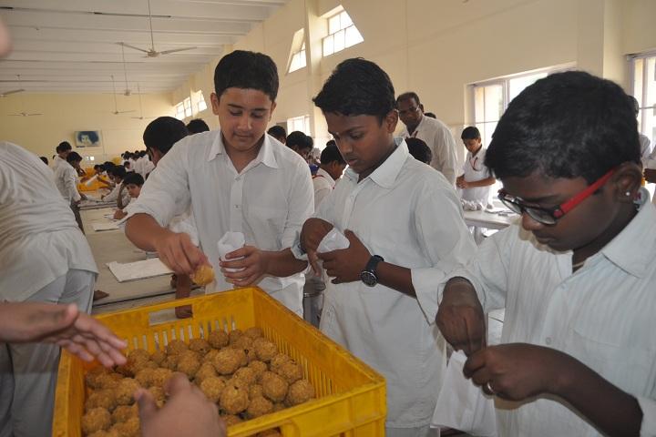 Sri Sathya Sai Higher Secondary School-Gramma seva